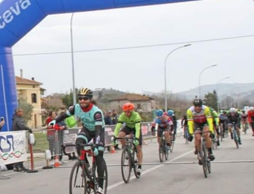 HG Cycling Team: Luca Curti vincente allo sprint al Trofeo Abruzzo Bike