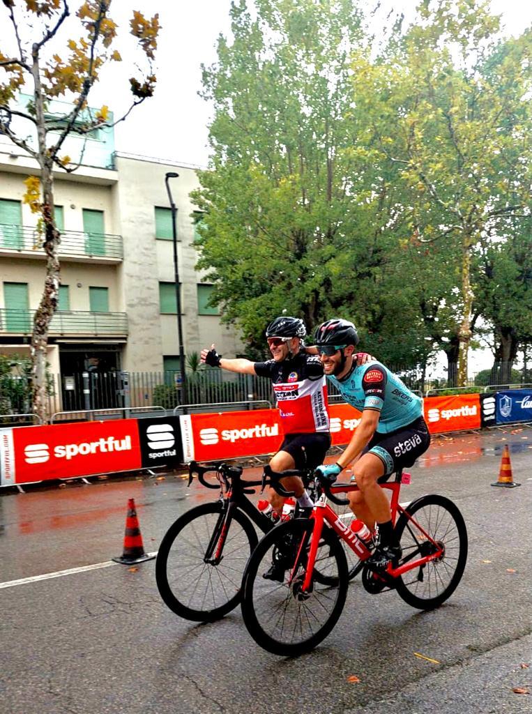 Che domenica alla Granfondo Michele Scarponi per l'HG Cycling Team, il timbro sulla vittoria con il tricolore Ettore Carlini 4